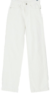 ivory cotton maxi pants