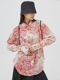 print regular-fit shirts - woman