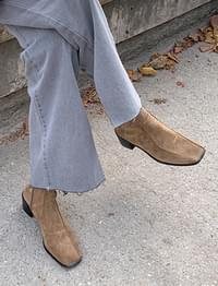 Feed line suede shoes_J