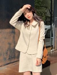Maybe check button jacket_C (size : free)