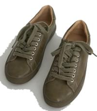 tidy color leather sneakers 球鞋/布鞋