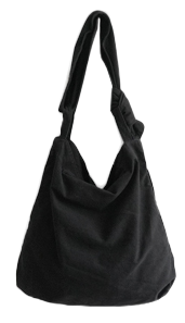 wearable cotton shoulder bag 帆布包