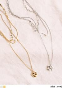WAKE SIMPLE LAYERED NECKLACE