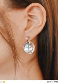 PRISM CIRCLE DROP EARRING