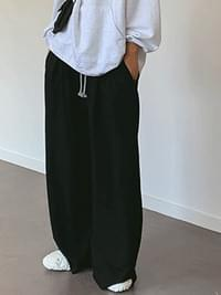 Pintuck Stella Wide Pants