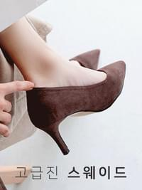 Combat Stiletto High Heels 7cm