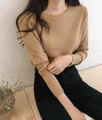 Simple basic round knit