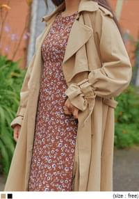 LAWREN RAGLAN BELT TRENCH COAT