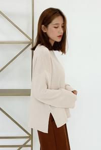 Daily round neck knit