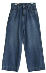 Wide Date Denim Pants