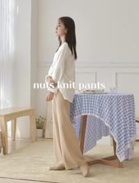 Nuts Knit Pants _Y
