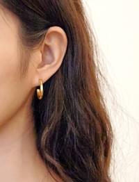 Angle small ring earring_C