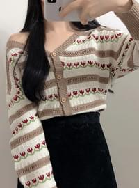 ♥ Tulip Dangara V-neck cardigan