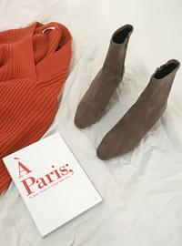 ♥ Suede Socks Boots