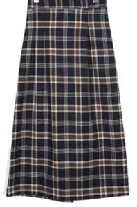 unique pattern check skirts