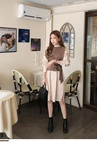 Sense Layered Dress + Best SET