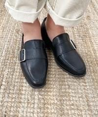 Square Buckle Loafers
