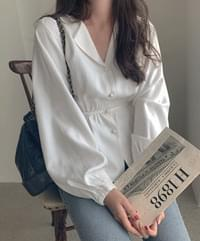 Rwan ribbon blouse