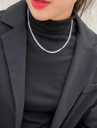 2 chain layered necklace