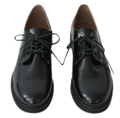 glossy daily oxford shoes