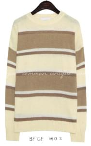 ROLL CAKE ROUND NECK KNIT
