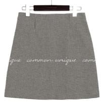CORIN HOUND CHECK SPAN MINI SKIRT