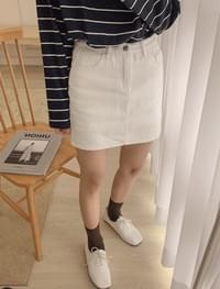Simple Culotte skirt _Y