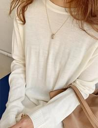 Time layered necklace_Y