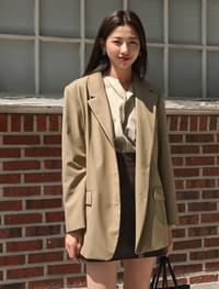 3 button classic jacket