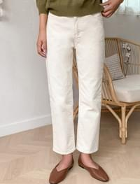 vital straight cotton pants