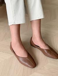 Feminine mood slim flat shoes