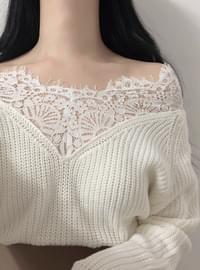 New Fashion ♥ Innocent Sexy Lace Knit