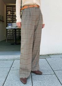 Oxford Check Slacks