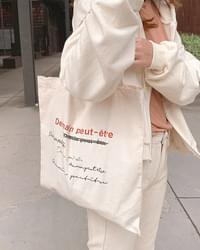 Etre color scheme eco bag