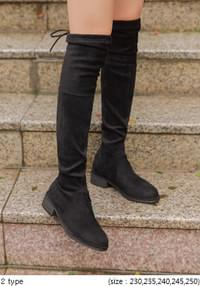 STRING THIGH HIGH BOOTS - 2 TYPE