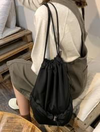 casual mood string bag