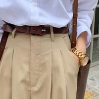 Speno leather belt