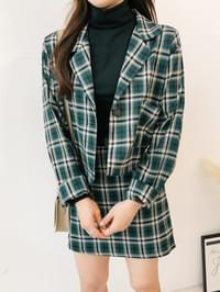 Second Check Jacket