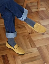 Away simple suede loafer_C