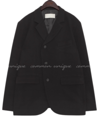 KOMIS UNBAL BUTTON JACKET