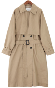 Trendy Strap Trench Coat 大衣外套