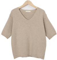 Honey wool cashmere knit_J (size : free)