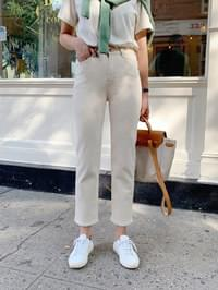 Daily date cotton pants