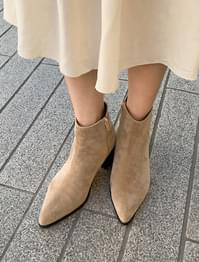 mood sharp ankle boots