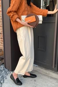 Fave pin tuck wide pants