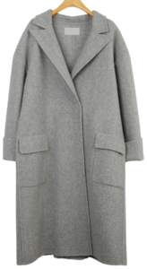 90% wool herringbone coat