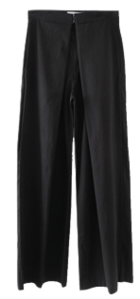 front pintuck structure pants