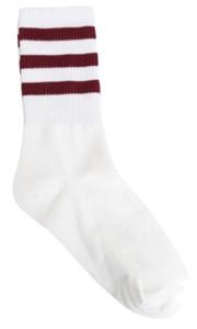 Longizu three-line socks