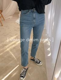 Vintage denim pants _H
