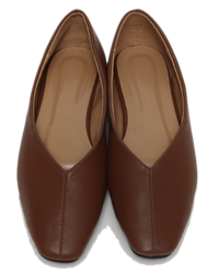 Fran line flat shoes_C (size : 225,230,235,240,245,250)